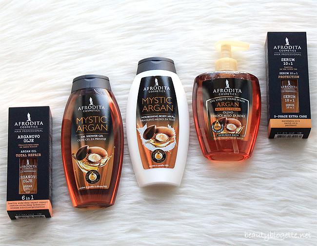 Kozmetika Afrodita proizvodi za kosu i tijelo