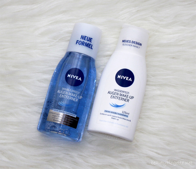 Nivea Double Effect losion za uklanjanje šminke i Odstranjivač vodootporne šminke