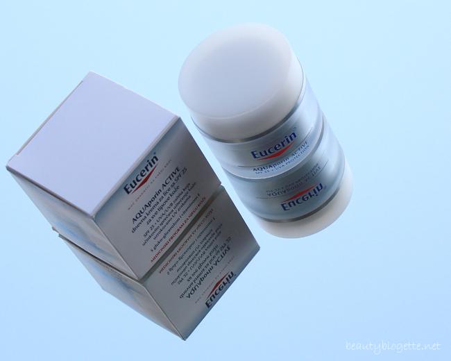 Eucerin AQUAporin ACTIVE dnevna krema za lice sa SPF 25 za sve tipove kože