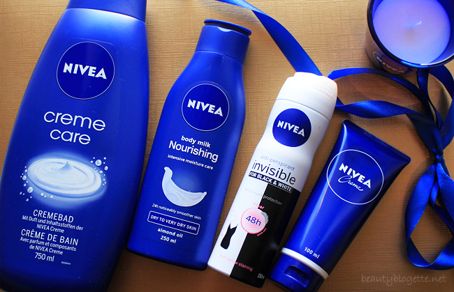 NIVEA proizvodi - Creme Care kupka, Invisible for black & white anti-perspirant, Mlijeko za tijelo za suhu do vrlo suhu kožu & originalna krema
