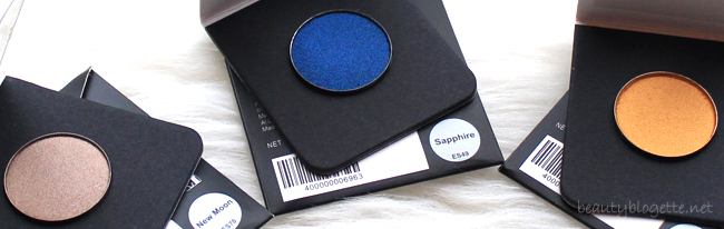 Morphe Brushes sjenila: New Moon, Sapphire & Starlight