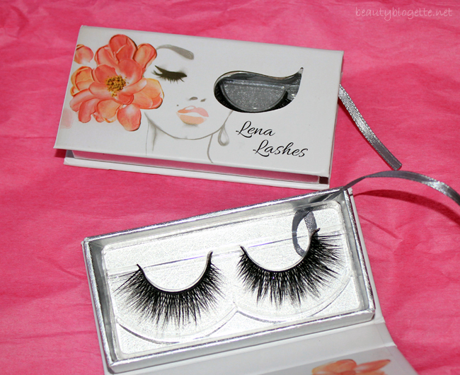 Pink Champagne for Valentine's Day - Lena Lashes Monroe