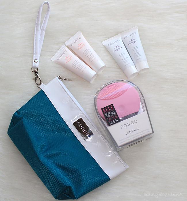 FOREO LUNA mini & proizvodi za čišćenje lica za dan i noć