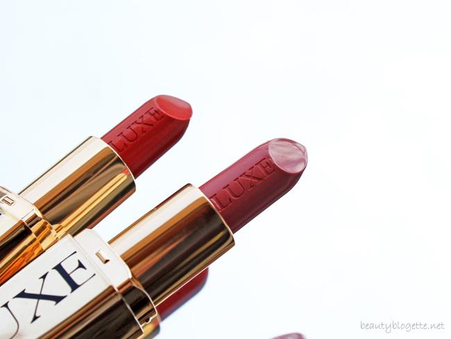 Avon Luxe ruževi za usne Stylish Coral i Pink Satin