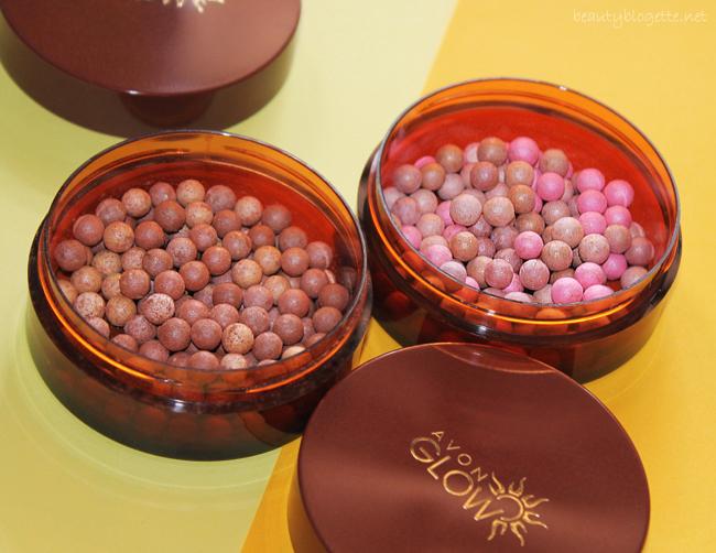 Avon Glow Brončane perle za lice Warm i Radiant Glow