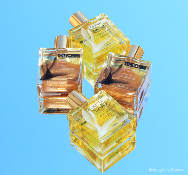 Olival Čarobno suho ulje i Čarobno suho ulje sa zlatnim česticama