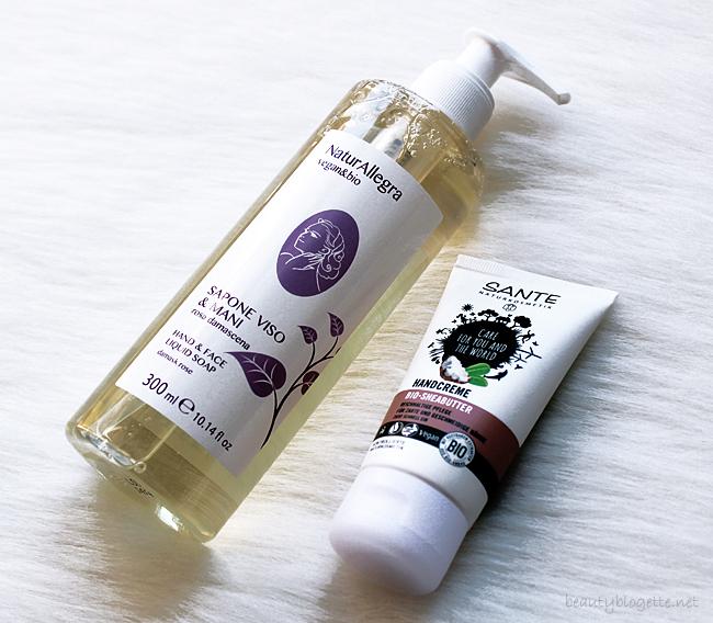 Ecco Verde - NaturAllegra Tekući sapun & Sante Krema za ruke s bio karite maslacem
