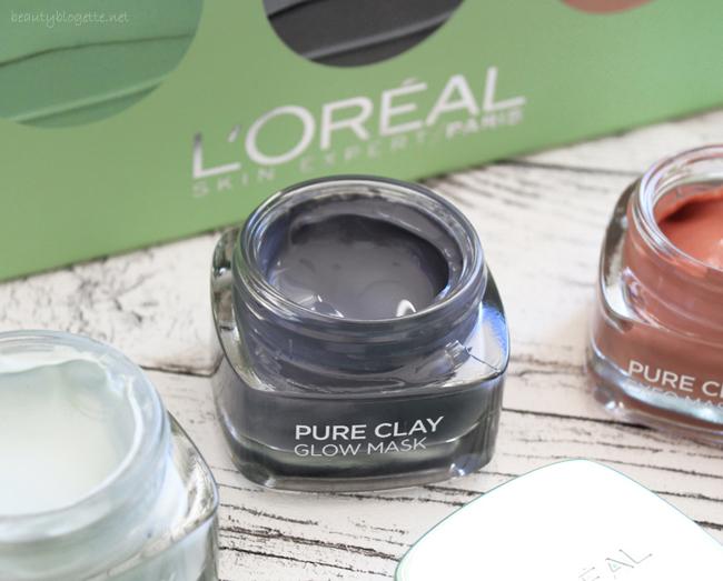 L'Oréal Paris Pure Clay Glow maska za lice