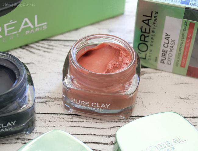 L'Oréal Paris Pure Clay Exfo maska za lice