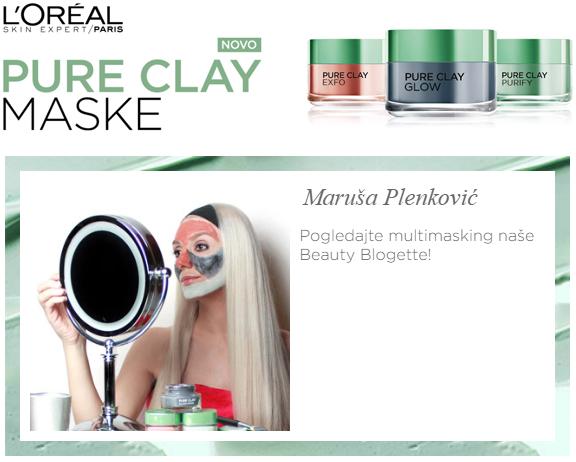 L'Oréal Paris Pure Clay Masks