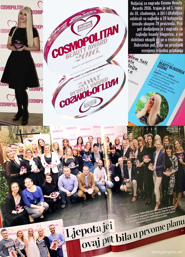 Cosmopolitan Beauty Award