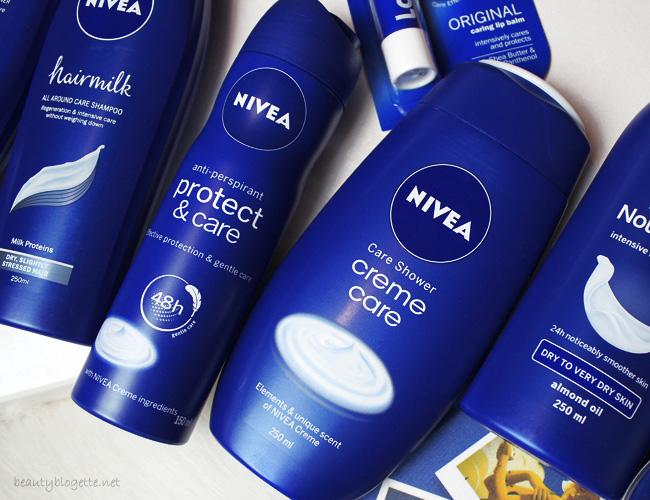 NIVEA Xmas '16 - Protect & Care anti-perspirant i Creme Care Njegujući gel za tuširanje
