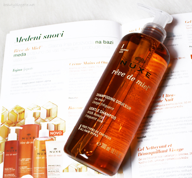 NUXE Rêve de Miel® Nježni šampon za kosu s medom