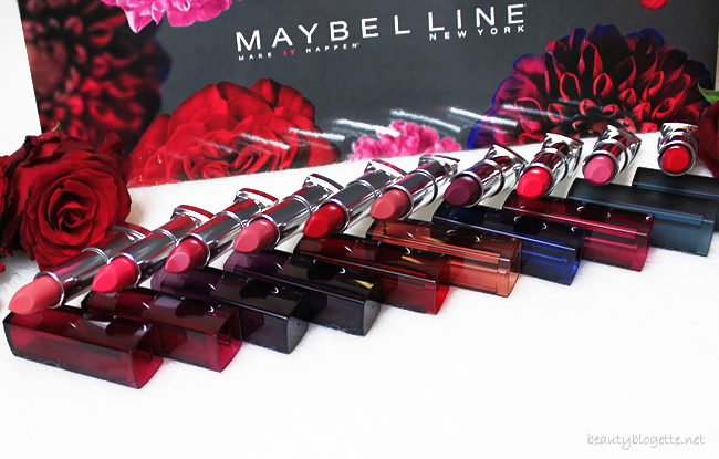 Maybelline New York Color Sensational ruževi