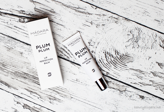 MÁDARA Plum Plum Lip Perfection Balm