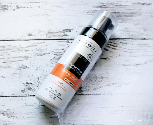 NovExpert Express Radiant pjena za čišćenje lica s vitaminom C