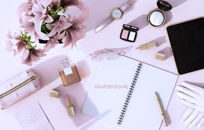 Beauty and fashion photo from Shutterstock