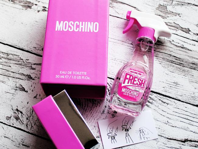 Moschino Pink Fresh Couture