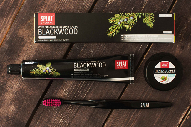 SPLAT Blackwood pasta za zube