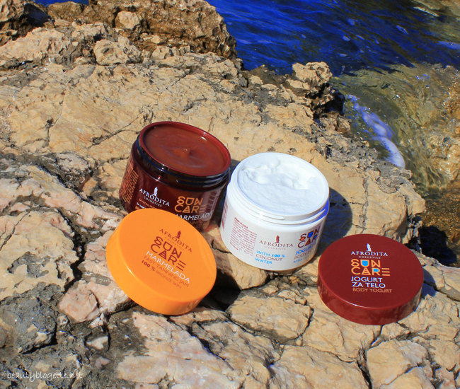 Kozmetika Afrodita Sun Care Body Yogurt