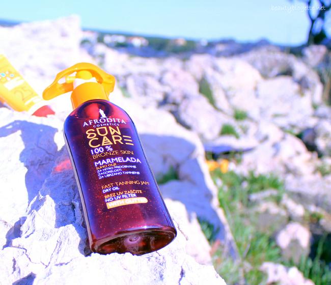 Kozmetika Afrodita Sun Care Marmelada Bronze suho ulje
