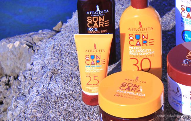 Kozmetika Afrodita Sun Care Krema za zaštitu lica od sunca Age Defence SPF 25