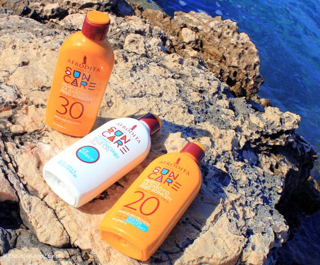 Kozmetika Afrodita Sun Care Mlijeko za zaštitu od sunca SPF 20, Sun Care Mlijeko za zaštitu od sunca SPF 30 & Sun Care Mlijeko nakon sunčanja After Sun
