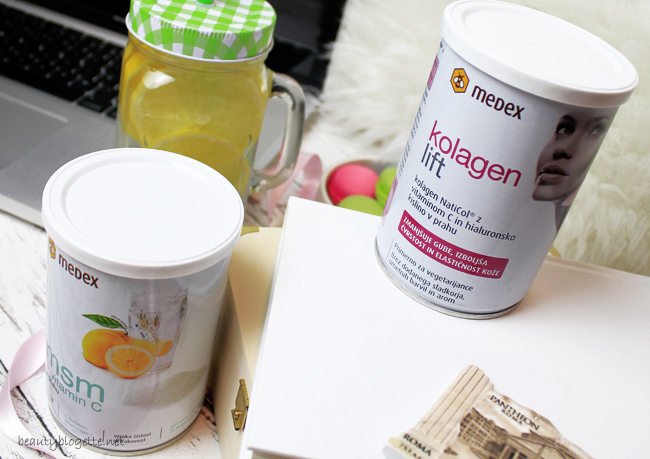 Medex MSM + vitamin C & Kolagen lift