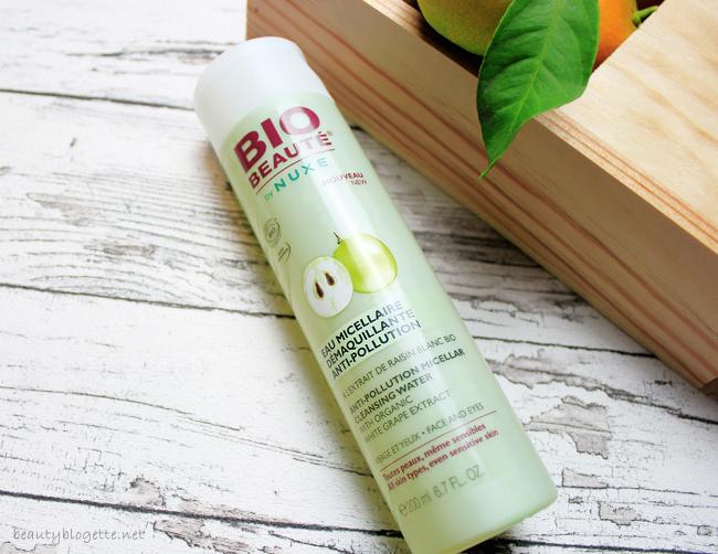 Bio Beauté® by NUXE Micelarna vodica za čišćenje lica s efektom protiv onečišćenja