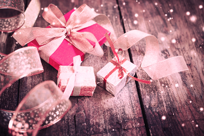Christmas presents photo from Shutterstock