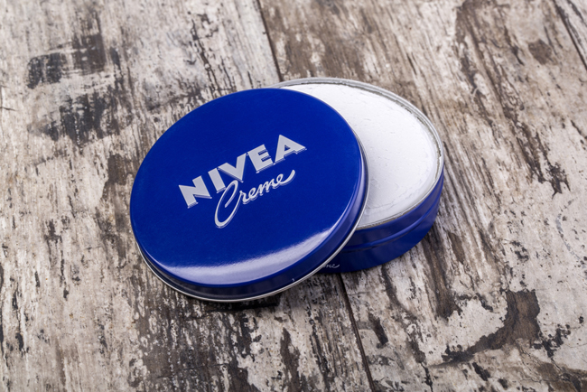 NIVEA Creme photo from Shutterstock
