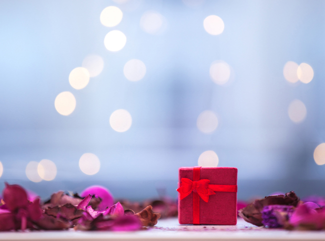 Gift box from Shutterstock