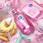 Čišćenje i njega kože i usana: NIVEA MicellAIR Rose water & Expert, REN Evercalm balzam i Labello Mango Shine