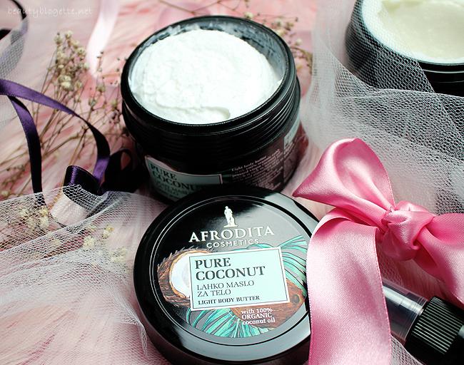 Kozmetika Afrodita 100% SPA Pure Coconut Light maslac za tijelo