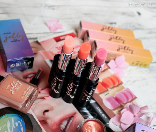 Avon Jelly balzam za usne - Sheer Pink, Sheer Coral Crush & Sheer Plum