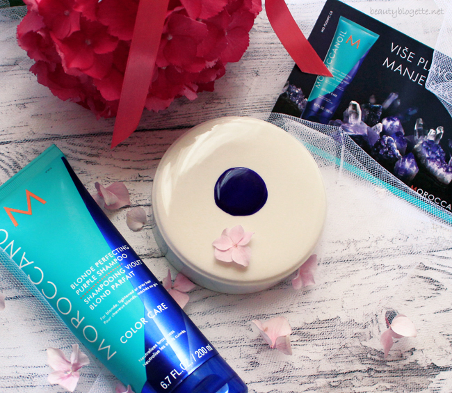 Moroccanoil Blonde Perfecting Purple Shampoo