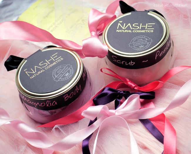 Nashe Cosmetics Magnolia Body Butter & Shea Scrub